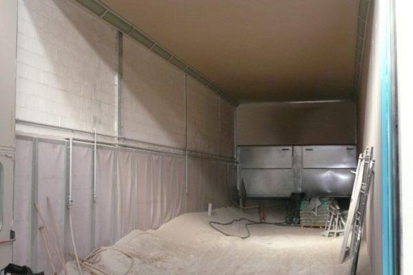 cabina statica di sabbiatura o granigliatura con recupero parziale o totale (Medium)